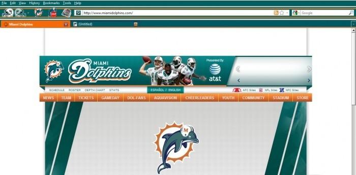Miami Dolphins Theme 1.11 dolphins