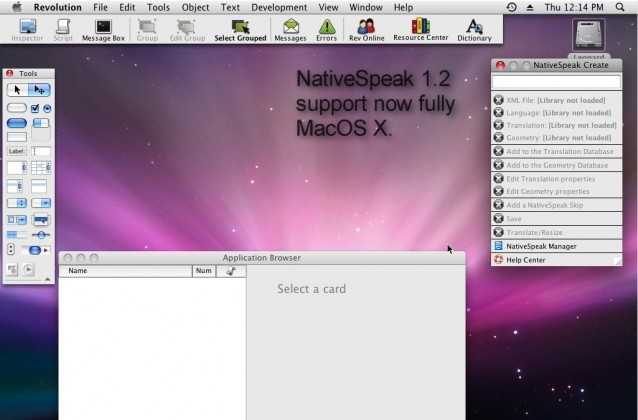 NativeSpeak Create 1.2 create