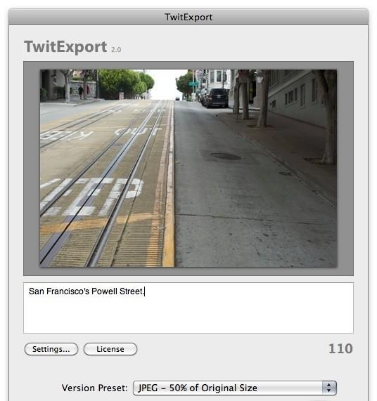 TwitExport 2.0.1