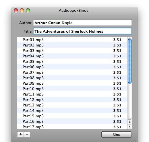 Audiobook Binder 1.13