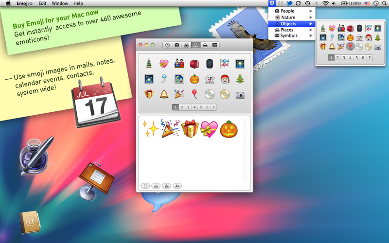 emoji u263a download app mac